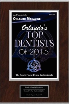 Top Dentist Award 2015